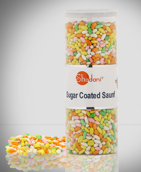 Shadani Sugar Coated Saunf Can